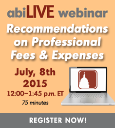 ABILive: Recommendations on Professional Fees & Expenses