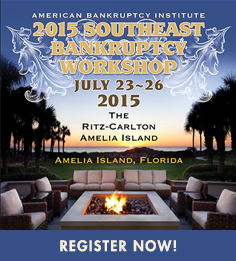 2015 Southeast Bankruptcy Workshop - July 23-26 - Amelia Island, FL