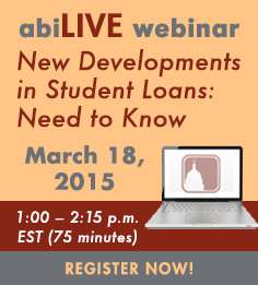 abiLIVE webinar March 18, 2015