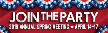2016 Annual Spring Meeting