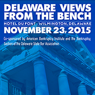 Delaware Views from the Bench Nov. 23, 2015