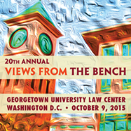 20th Annual Views from the Bench 10/09/15