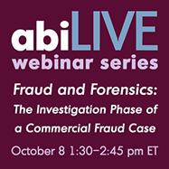 Fraud  & Forensics Webinar 10.08.15