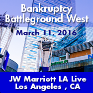 Bankruptcy Battleground West