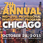 7th Annual Mid-Level Professional Developement Program 10/28/15